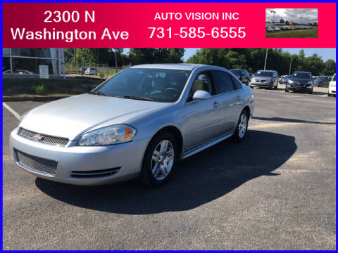 2015 Chevrolet Impala Limited for sale at Auto Vision Inc. in Brownsville TN