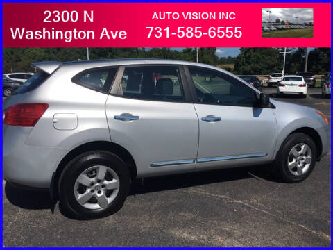 2013 Nissan Rogue for sale at Auto Vision Inc. in Brownsville TN