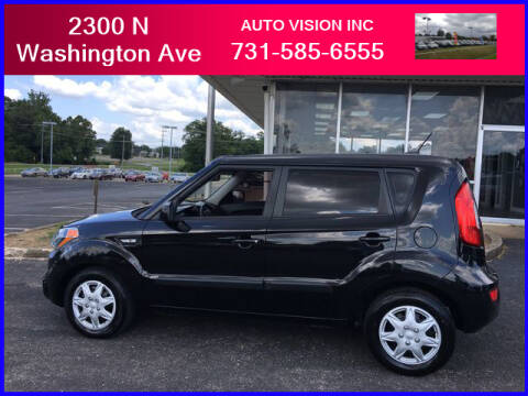 2013 Kia Soul for sale at Auto Vision Inc. in Brownsville TN