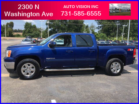 2013 GMC Sierra 1500 for sale at Auto Vision Inc. in Brownsville TN