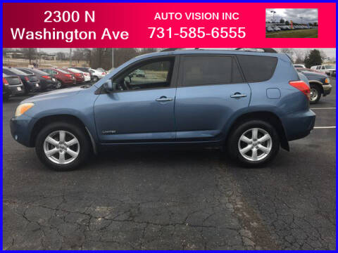 2008 Toyota RAV4 for sale at Auto Vision Inc. in Brownsville TN
