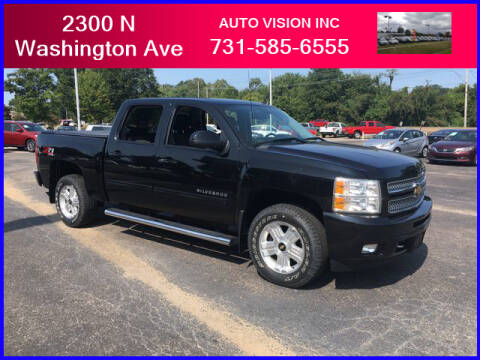 2012 Chevrolet Silverado 1500 for sale at Auto Vision Inc. in Brownsville TN