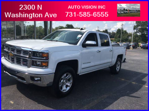2015 Chevrolet Silverado 1500 for sale at Auto Vision Inc. in Brownsville TN