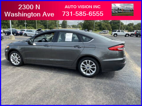 2019 Ford Fusion Hybrid for sale at Auto Vision Inc. in Brownsville TN