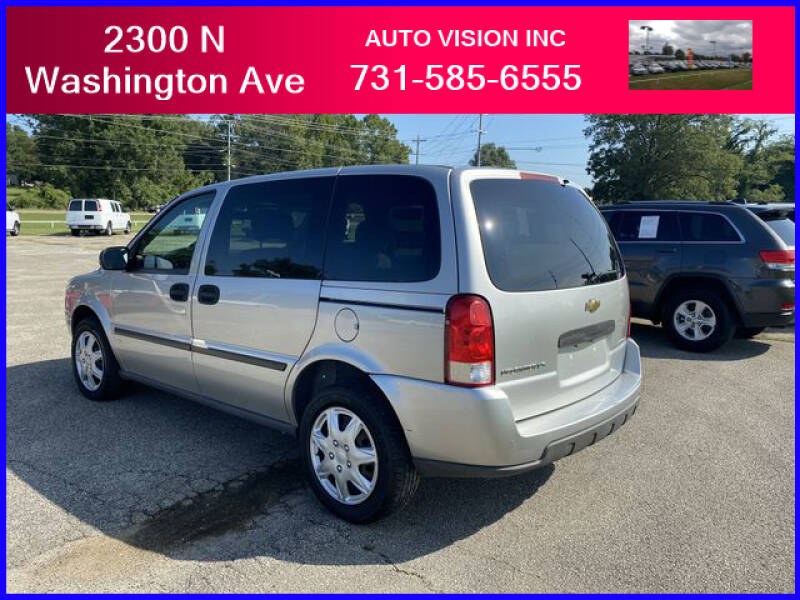 2007 Chevrolet Uplander for sale at Auto Vision Inc. in Brownsville TN