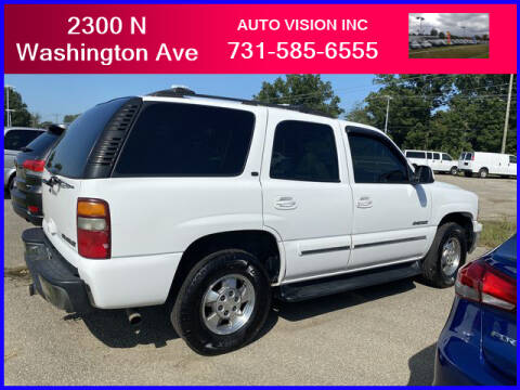 2001 Chevrolet Tahoe for sale at Auto Vision Inc. in Brownsville TN