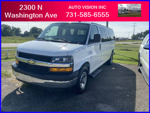 2019 Chevrolet Express Passenger for sale at Auto Vision Inc. in Brownsville TN