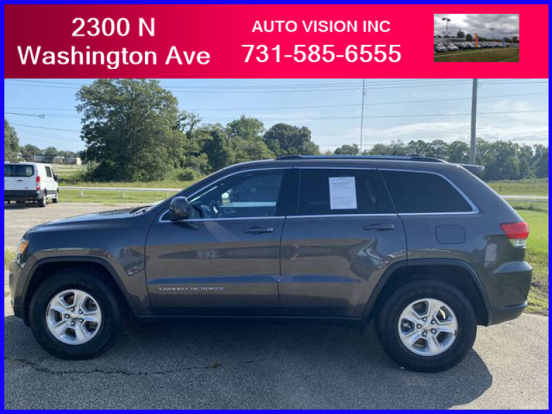 2015 Jeep Grand Cherokee for sale at Auto Vision Inc. in Brownsville TN