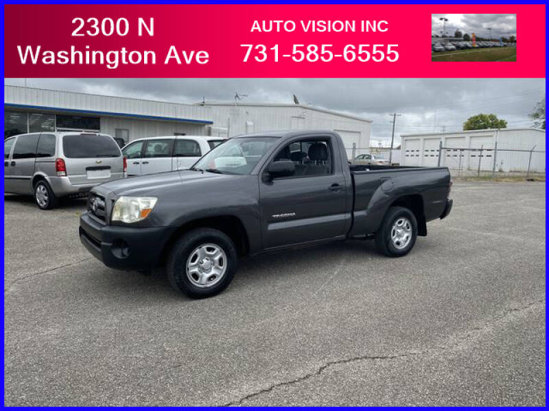 2009 Toyota Tacoma for sale at Auto Vision Inc. in Brownsville TN