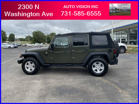 2015 Jeep Wrangler Unlimited for sale at Auto Vision Inc. in Brownsville TN