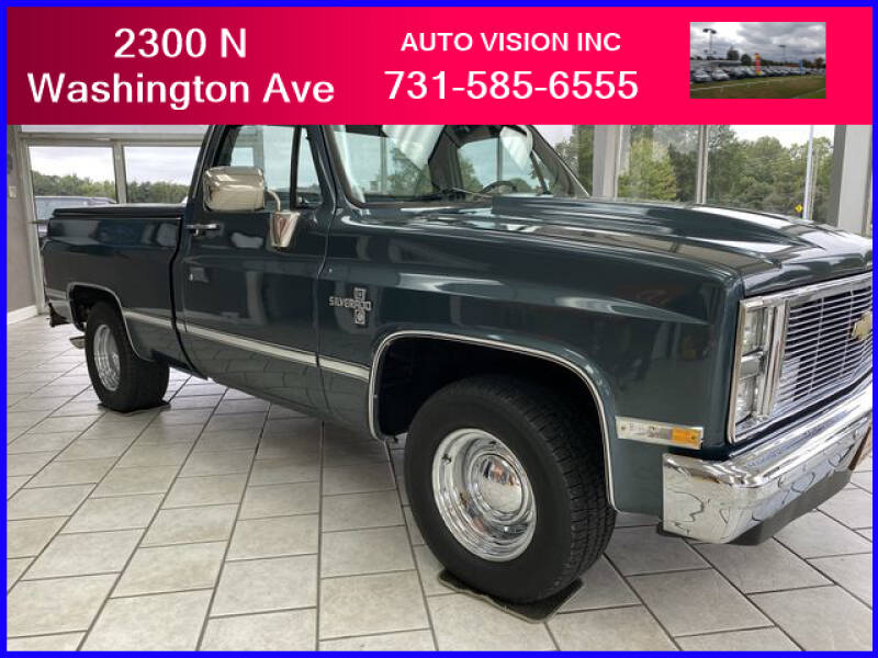 1984 Chevrolet C/K 10 Series for sale at Auto Vision Inc. in Brownsville TN