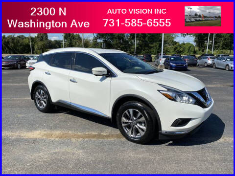 2015 Nissan Murano for sale at Auto Vision Inc. in Brownsville TN
