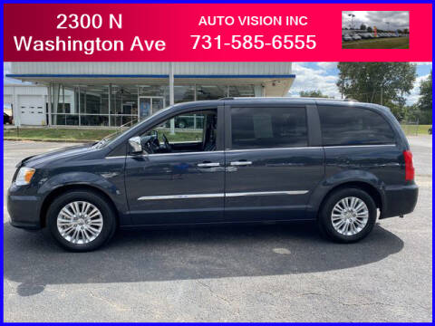 2013 Chrysler Town and Country for sale at Auto Vision Inc. in Brownsville TN