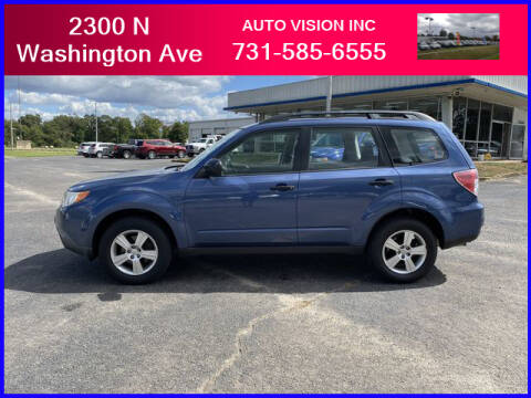 2011 Subaru Forester for sale at Auto Vision Inc. in Brownsville TN