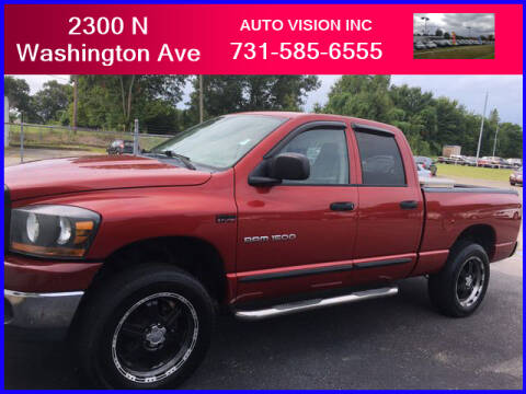 2006 Dodge Ram Pickup 1500 for sale at Auto Vision Inc. in Brownsville TN