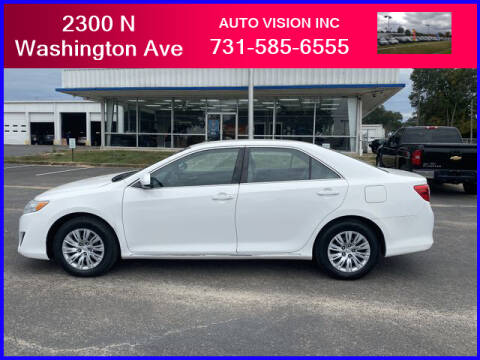 2012 Toyota Camry for sale at Auto Vision Inc. in Brownsville TN