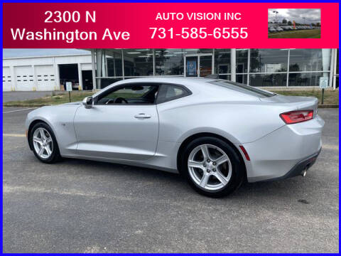 2017 Chevrolet Camaro for sale at Auto Vision Inc. in Brownsville TN