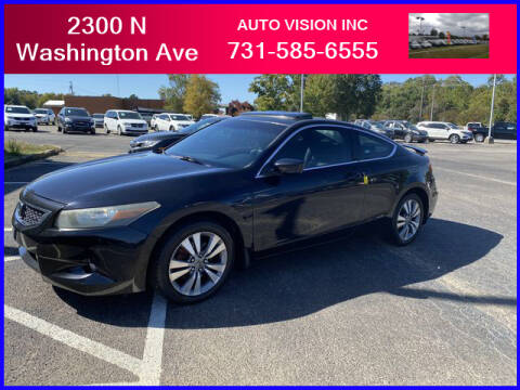 2008 Honda Accord for sale at Auto Vision Inc. in Brownsville TN