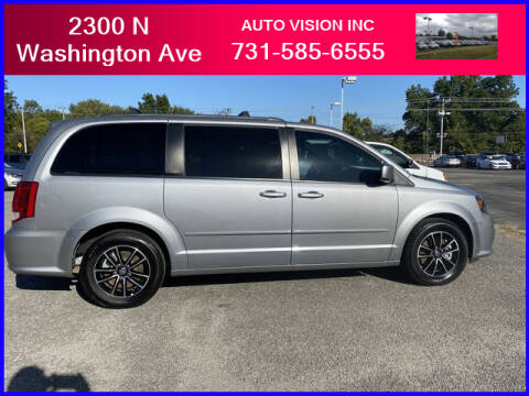 2017 Dodge Grand Caravan for sale at Auto Vision Inc. in Brownsville TN