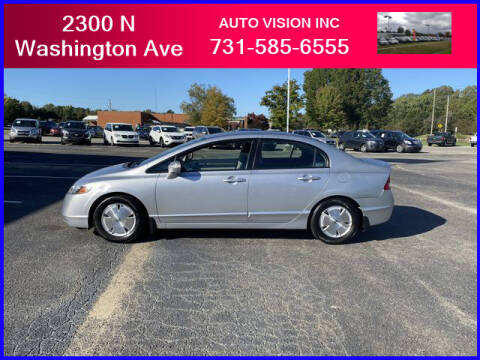 2008 Honda Civic for sale at Auto Vision Inc. in Brownsville TN