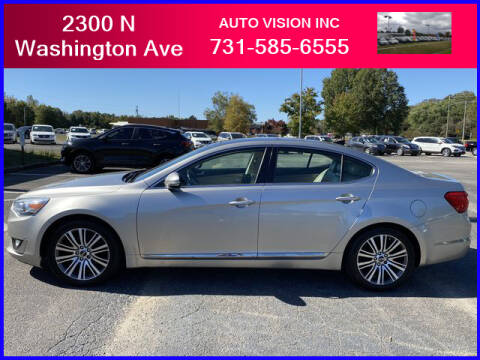 2014 Kia Cadenza for sale at Auto Vision Inc. in Brownsville TN