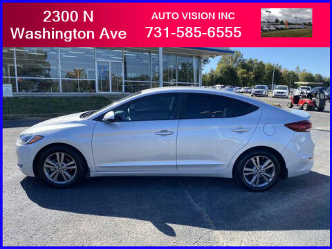 2017 Hyundai Elantra for sale at Auto Vision Inc. in Brownsville TN