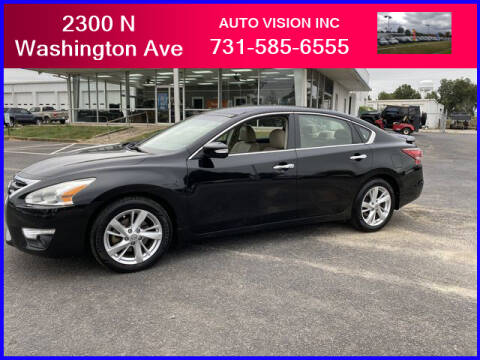 2013 Nissan Altima for sale at Auto Vision Inc. in Brownsville TN
