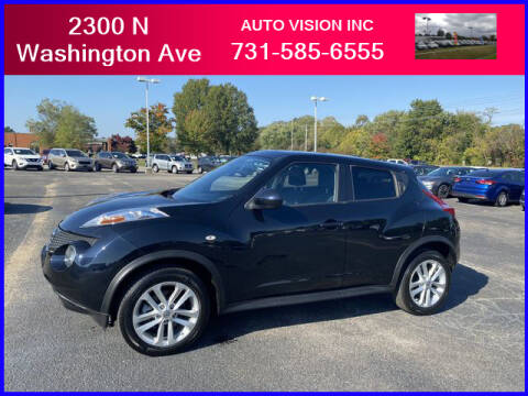 2013 Nissan JUKE for sale at Auto Vision Inc. in Brownsville TN