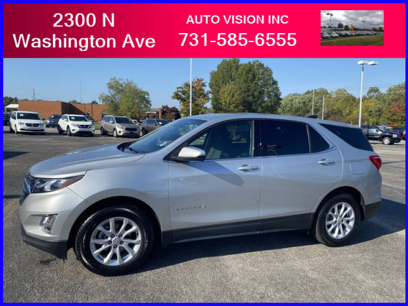 2018 Chevrolet Equinox for sale at Auto Vision Inc. in Brownsville TN
