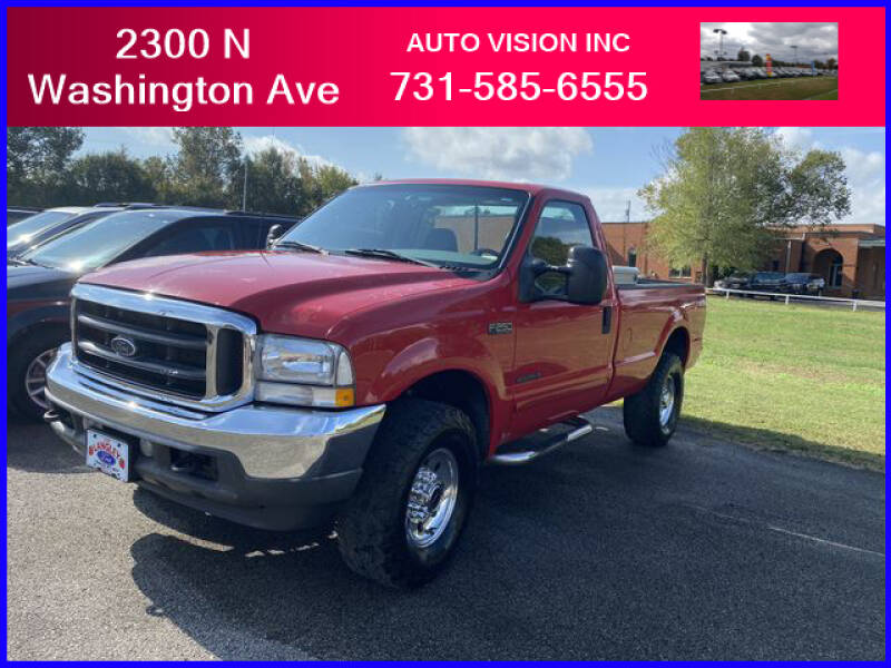 2003 Ford F-250 Super Duty for sale at Auto Vision Inc. in Brownsville TN