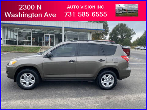 2012 Toyota RAV4 for sale at Auto Vision Inc. in Brownsville TN