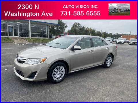 2013 Toyota Camry for sale at Auto Vision Inc. in Brownsville TN