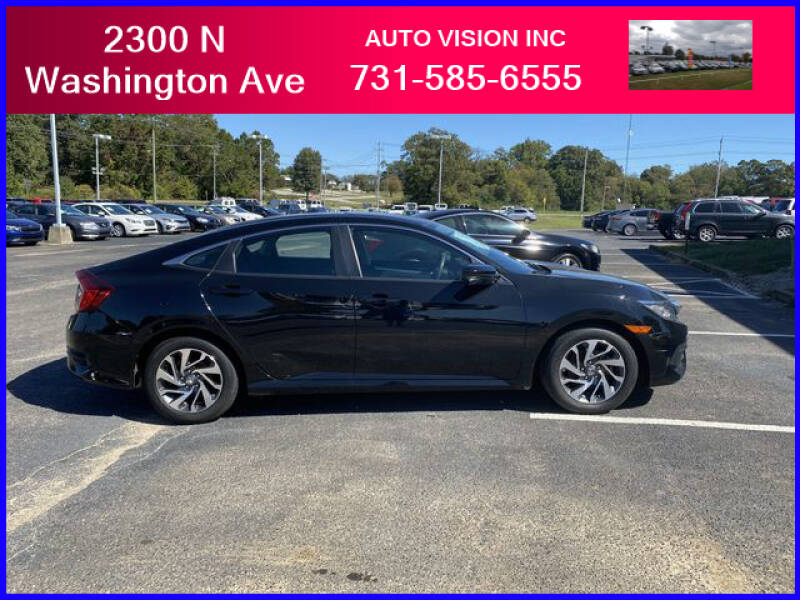 2016 Honda Civic for sale at Auto Vision Inc. in Brownsville TN