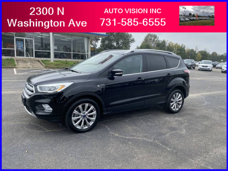 2017 Ford Escape for sale at Auto Vision Inc. in Brownsville TN
