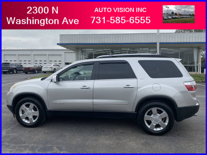 2007 GMC Acadia for sale at Auto Vision Inc. in Brownsville TN
