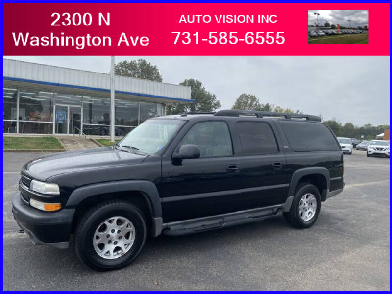 2005 Chevrolet Suburban for sale at Auto Vision Inc. in Brownsville TN