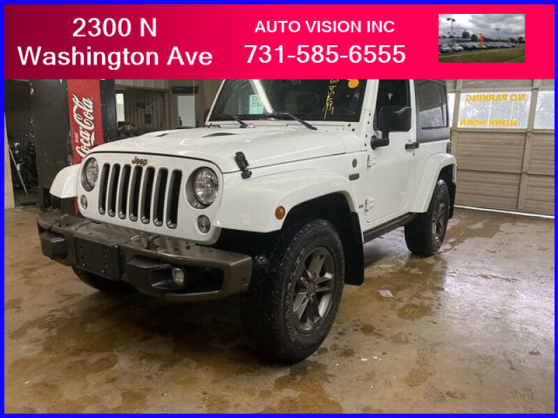 2016 Jeep Wrangler for sale at Auto Vision Inc. in Brownsville TN