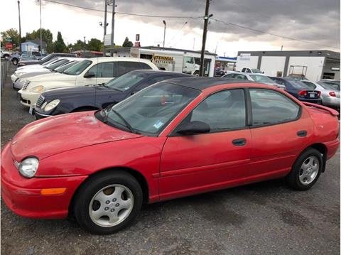 1996 Dodge Neon For Sale In Utah Carsforsale