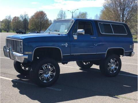 1985 Chevrolet Blazer for sale at Elite 1 Auto Sales in Kennewick WA