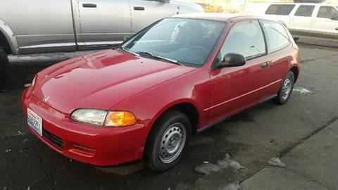 1995 Honda Civic for sale at Elite 1 Auto Sales in Kennewick WA