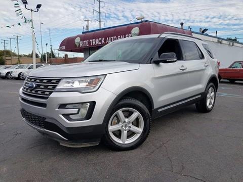 2016 Ford Explorer for sale in Wayne, MI