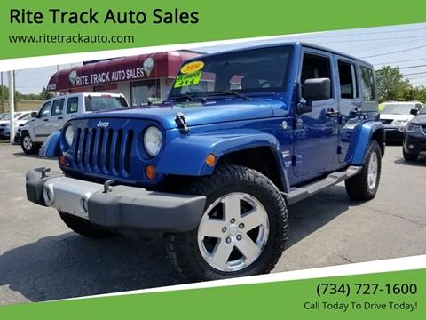2009 Jeep Wrangler Unlimited for sale in Wayne, MI
