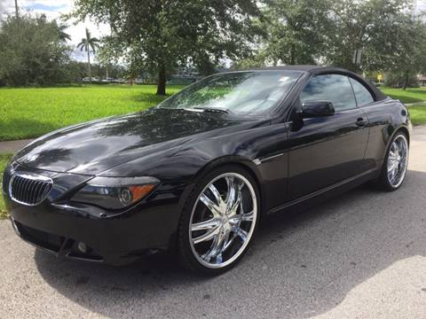BMW Series For Sale Carsforsalecom - 2004 bmw 645 convertible for sale