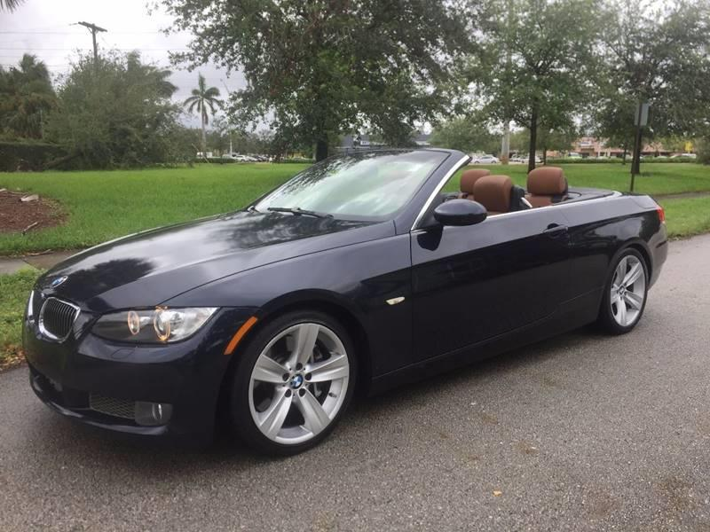 Bmw Series I Dr Convertible In West Park FL Miami Pre - 2008 bmw 3 series 335i convertible