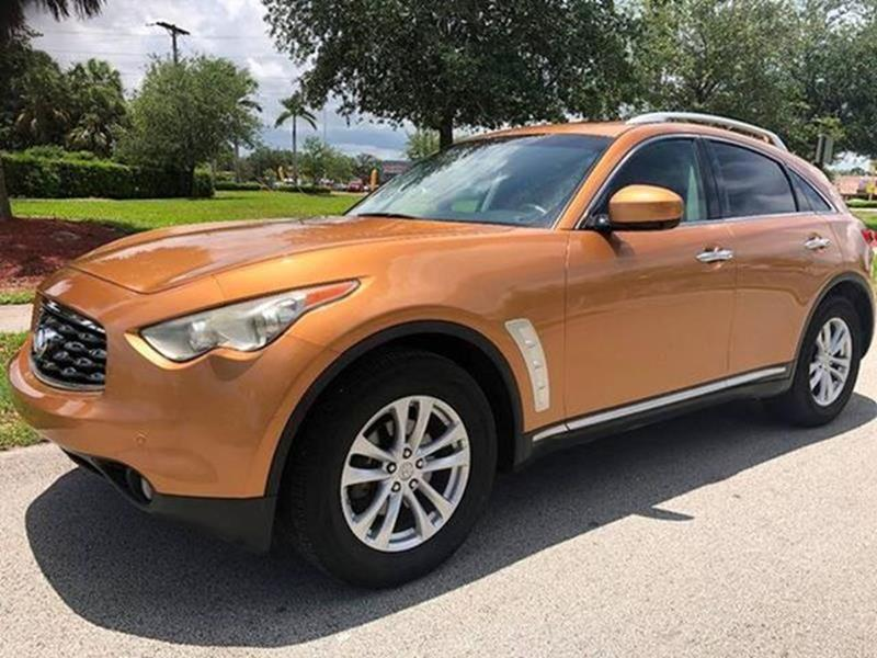 2009 Infiniti Fx35 4dr Suv In West Park Fl Miami Pre Owned