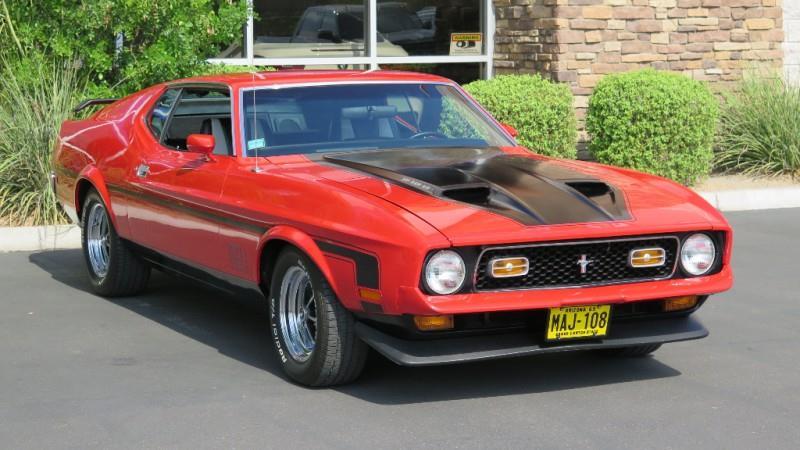 1971 Ford Mustang Mach 1 351ci Mach 1 - Chandler AZ