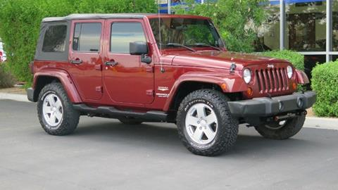 2007 Jeep Wrangler Unlimited for sale in Chandler, AZ
