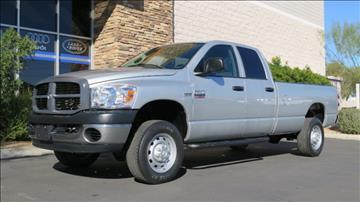 2007 Dodge Ram Pickup 2500 for sale in Chandler, AZ