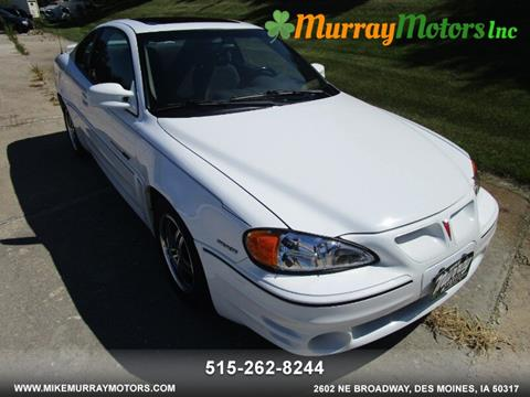 2001 Pontiac Grand Am for sale in Des Moines, IA