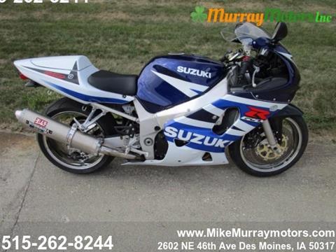 2003 Suzuki GSXR600 for sale in Des Moines, IA